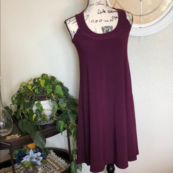 09a1705529a8 ellen parker Dresses & Skirts - Small Plum Summer Dress 🛍🛍